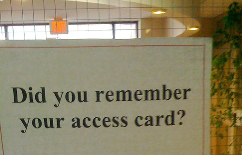 Your Access Card?