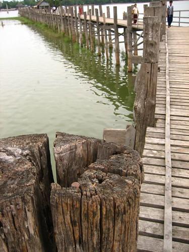 สะพานอูเบ็ง สร้างมา 200 ปี ยาวประมาณ 1 กม.
