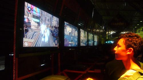 Stand de inFAMOUS en Conexión Playstation