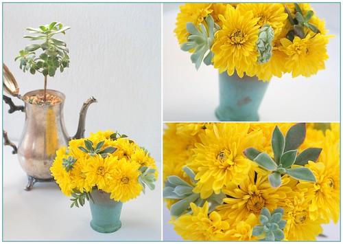Sunny Succulents Bouquet