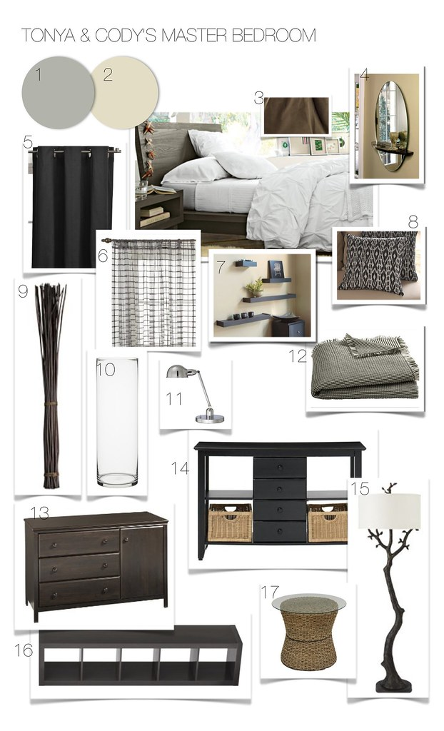 Tonya & Cody's Modern Rustic Bedroom