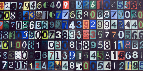 colored numbers code