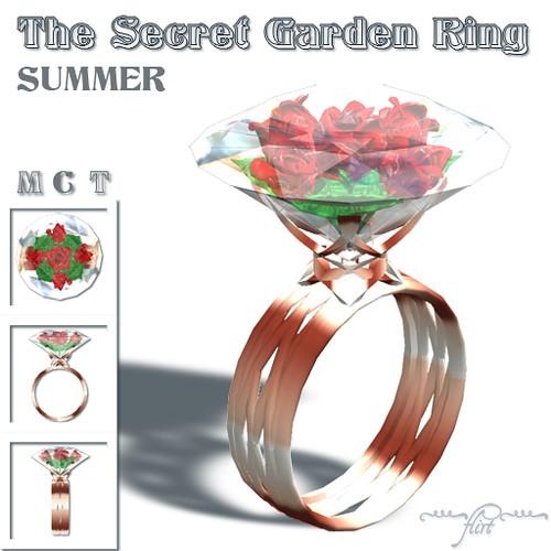 ~flirt~ The Secret Garden Ring: SUMMER