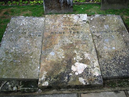 Memorial to Anne Tree, Thomas Dungate and John Foreman