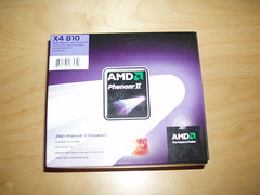 AMD Phenom II 810 Quad Core 2.6Ghz AM3 Box