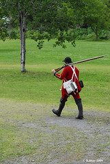 For those who complain about carrying that big DSLR with the huge telephoto lens :-) - Plains of Abraham Re-Enactment, Founders Day 2009, Ogdensburg, New York.
