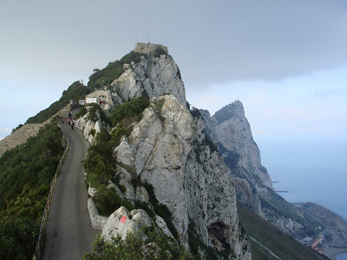 Steep Road on Gibraltar