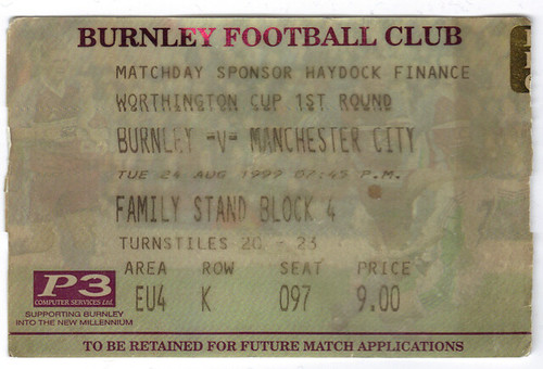 Burnley 0-1 City
