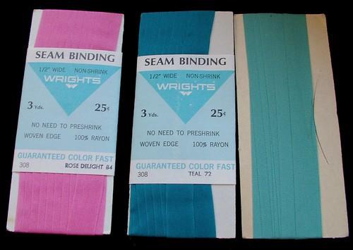 rayon seam binding