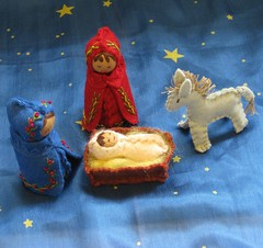Holy Family Mini-Nativity oct09