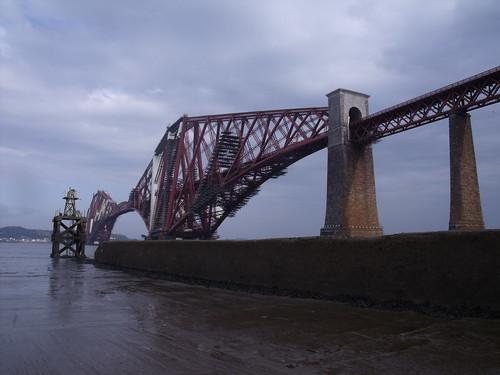 20090919 Edinburgh 09 South Queensferry 53 Forth Railway Bridge & Hawes Pier