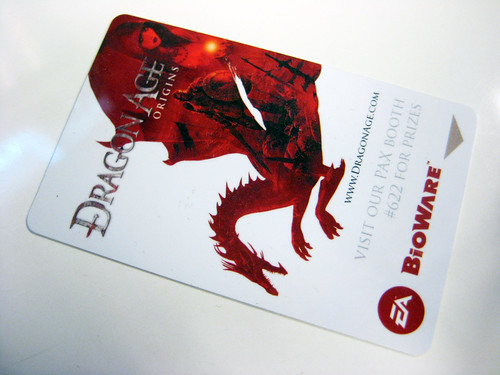 We stayed at Sheraton. The hotel keys were sponcered by Dragon Age!