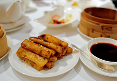 Pan-Fried Rice Rolls