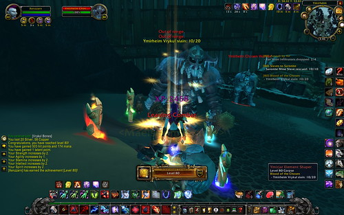Xenzzarn reaches level 80 with help from vrykul