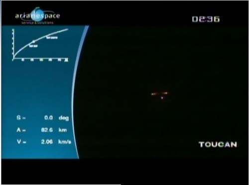 Booster Separation from the Ground