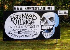 Haunted Village in Goshen, MA (10/16-10/17, 2009)