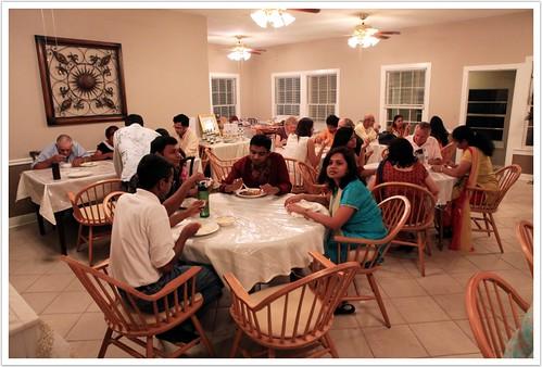 Ashram Dining