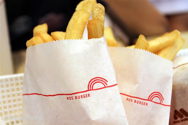 Mos Burger Fries