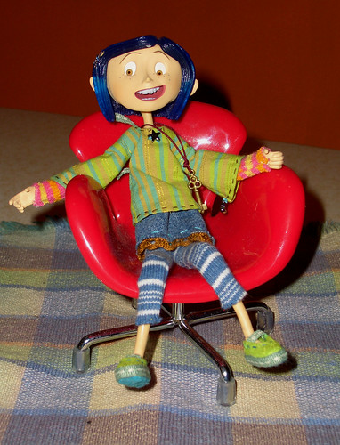 Coraline's Red Chair