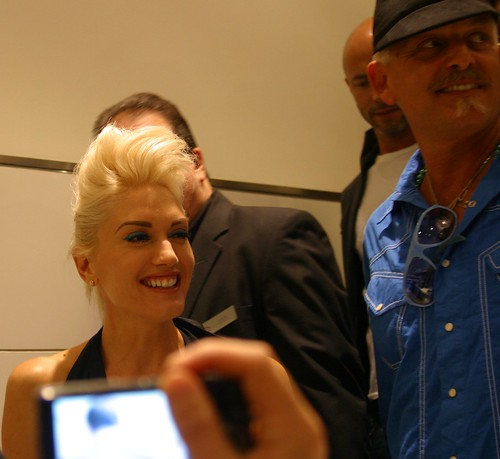 Gwen Stefani At Bloomingdales Fashion's Night Out 5