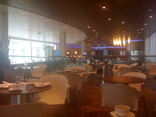 KLM Crown lounge in amsterdam