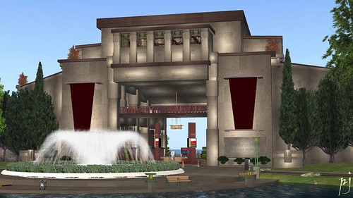 Designing Worlds discusses the closure of the Frank Lloyd Wright Virtual Museum