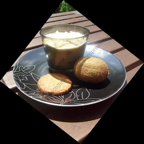 Trifle au kiwi / Kiwi trifle