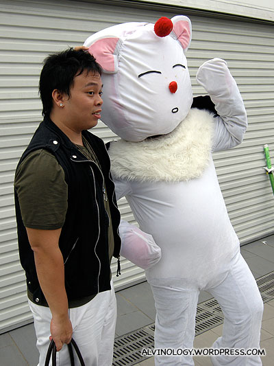 It helps to look cuddly like a marshmallow too