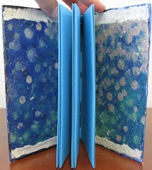 Blue Longstitch Journal
