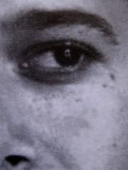 Abdellah Taïa, L'esercito della salvezza, ISBN 2009; Grafica di Alice Beniero; q. di cop.: ill. fotog. b/n: ritratto dell'autore (i credits della foto non sono indicati): verso della q. di copertina (part.) 4