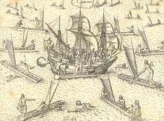 Trading in the Marianas, 1602