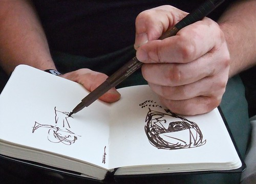 Drawing Bob Hund