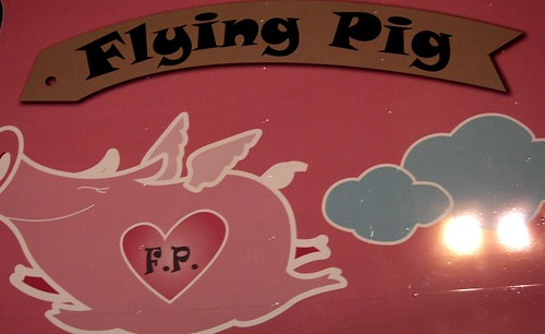 The Flying Pig Truck, Hollywood by you.