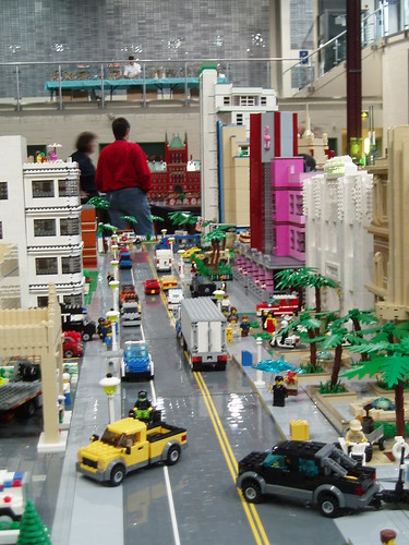 Bricksboro Beach LEGO Diorama
