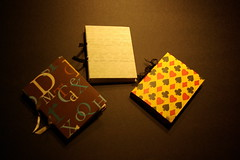 Quarter Size Blank Journals
