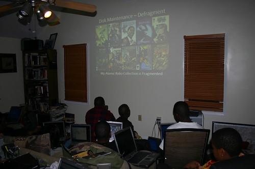 Computer Literacy Program - Maintenance - Fragmented Comic Books