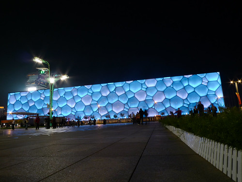 National Aquatics Center aka Water Cube