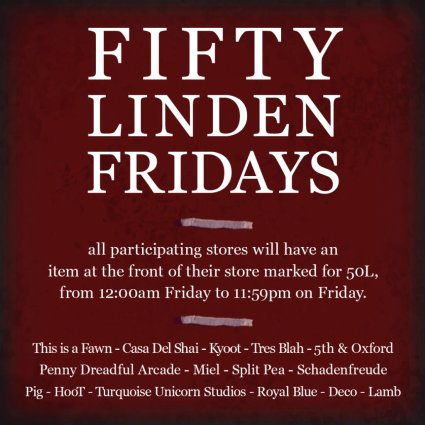 Fifty Linden Friday - Week 12