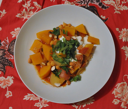 Butternut Squash and Chickpea Tagine