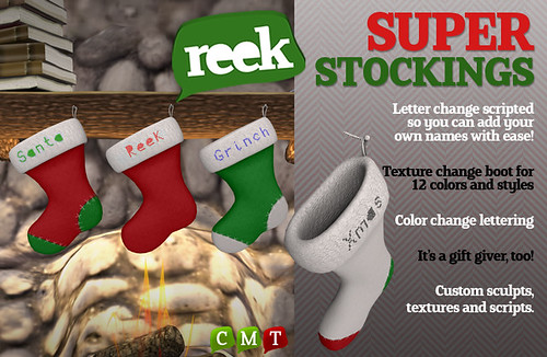 Reek - Super Stockings Ad
