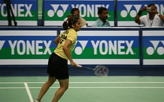 Saina Nehwal - posed to strike