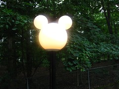 Mickey Lamp Post