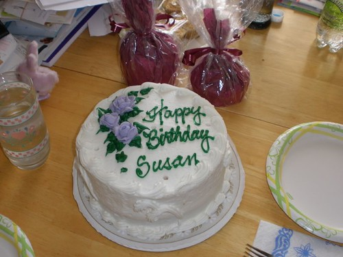 A special birthday cake for ZenKnit (Susan)