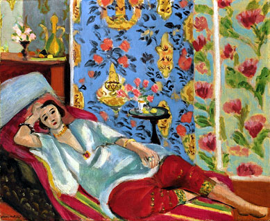 Odalisque in Red Trousers, Henri Matisse
