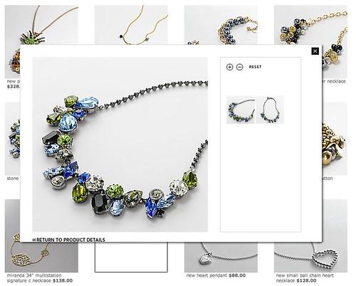poppy rhinestone necklaces 2