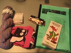 Starbucks & Yarn Swap Goodies