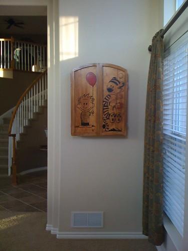 Dartboard Cabinet - Complete