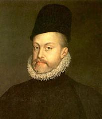 King Felipe II of Spain