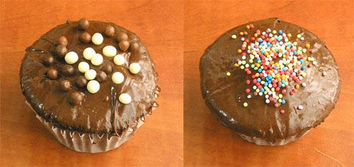 cupcakes veganas
