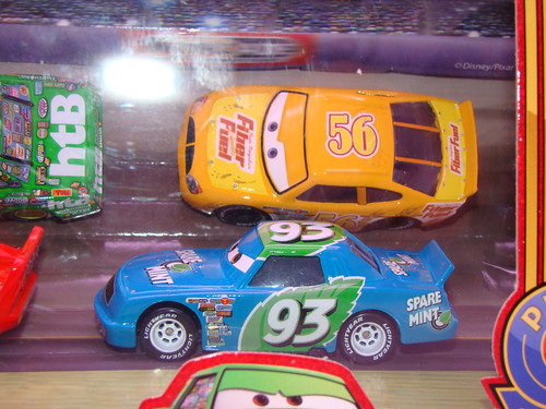 Disney CARS Target Racing 4 Pack (1)